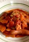 夏野菜のアラビアータ風シチュー