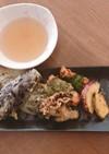 おうちで天ぷら