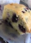 ブルーベリー チーズ パウンドケーキ
