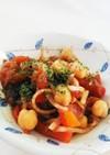 パプリカとひよこ豆のイタリアン味噌サラダ