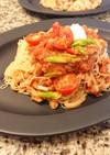 火なし!5分で冷製トマトカッペリーニ