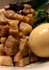 台湾風豚ばら肉の汁だく丼