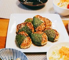 レンコン入り★鶏と豆腐のつみれバーグ