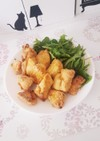 高野豆腐とオーブンで作るヘルシー唐揚げ
