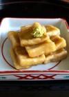 加賀麩みたいな高野豆腐の揚げ煮◆おつまみ