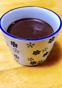 低糖質チョコプリン