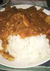カレーに KAGOME野菜たっぷりスープ