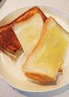 朝食やおやつに、とろ甘ホットサンド。