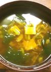 梅味噌を使ったお味噌汁