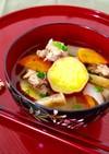 定番★さつま芋のめった汁(豚汁)