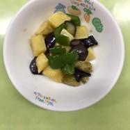 【保育園給食】夏野菜の甘辛和え