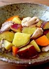 【常備菜・旨い】鶏肉とさつま芋の煮物