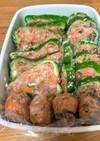 ピーマンの肉詰め2種類(焼肉シャンタン)