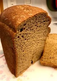 ふすまパン(黒ごまアーモンドきなこ入り)