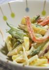 さつま芋・きゅうり・カニカマのマヨサラダ