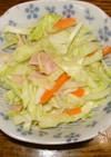 簡単コールスロー(キャベツのサラダ)