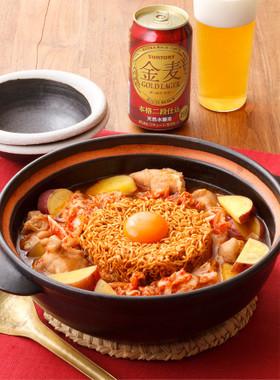 タッカルビ風チ金麦鍋