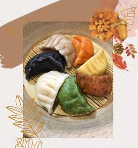七色の水餃子☆