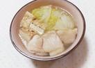 簡単ヘルシー♡鶏肉と焼豆腐と白菜の煮物