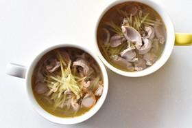 台湾風砂肝スープ〜下水湯〜