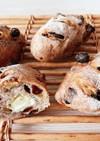 胡桃レーズンクリームチーズのハードパン