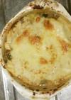 キノコと野菜の和風味噌グラタン