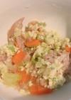 [離乳食後期]野菜・ツナ・卵のミルク煮