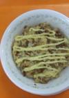 納豆と鮭のクイックドリア
