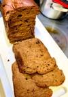 低糖質ココア&カカオ食パン♪