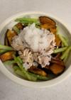豚しゃぶと夏野菜のサラダ