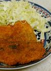 あじフライ&白菜の味噌汁✨