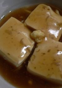 うまうま煮の煮汁で☆美肌お豆腐あんかけ