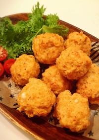 ミンチ肉で作る唐揚げ(ミートボール)