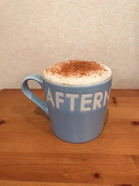 ミルクウォーマーでカフェラテ