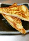 フライパンで!ハムとチーズのホットサンド