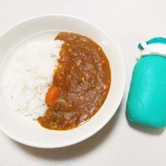 +離乳食♡圧力鍋でかぼちゃカレー&スープ