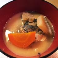 豚汁のかわりに☆鯖缶の味噌汁