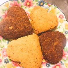 グルテンフリーおからとクルミのクッキー