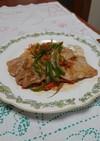 簡単夕食!豚肉ソテー野菜オイスターソース