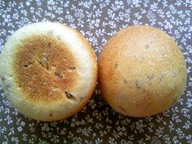 ストレート法 レーズン酵母無駄なし丸パン