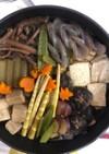 秋の鍋ごと煮物