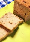 くるみとラズベリー、全粒粉入り食パン