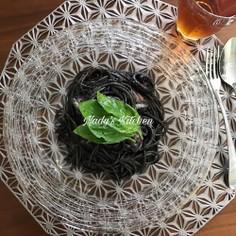 ★ なんて簡単! 超絶美味イカスミパスタ
