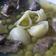鶏レバーエンドウ豆スープ「イタリア料理」