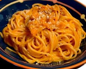 トマトカルボナーラ #溶けるチーズ