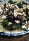 夏野菜とひき肉と豆腐の炒め物