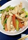 しっとりむね肉の中華サラダ