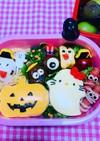 ハロウィンキティちゃん弁当 パン キティ