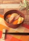 レンジで簡単★シャウエッセン味噌汁