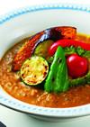 グリル野菜のカレースープ。